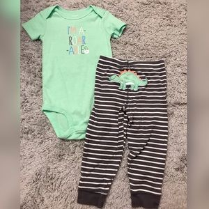24M Baby Boy Dinosaur Outfit